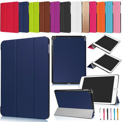 New For iPad 9.7 inch 2017 A1822 A1823 Slim Leather Smart Case Shockproof Cover