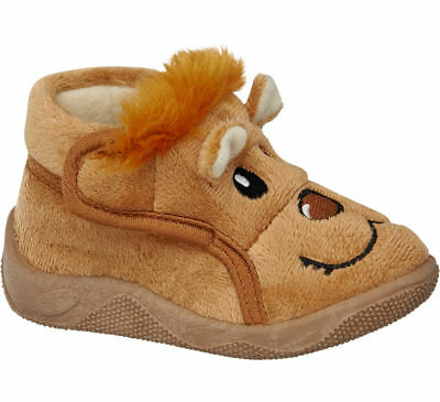 Bobbi-Shoes Kinder Hausschuh camel Neu