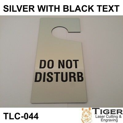 Do Not Disturb Door Hanger Can Be Customised Or Personalised 10Cmx21Cm