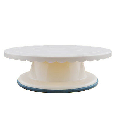 Icing Turntable Cake Decor Rotating 29cm/11'' Flat Cake Decorating Stand