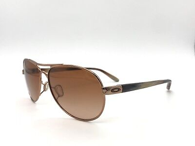 Oakley TIE BREAKER Bronze/Brown/Rose Sunglasses  Authentic OO4108-08