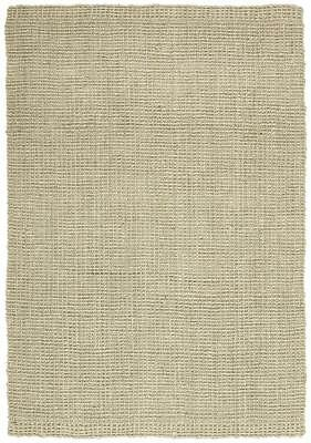 New Chunky Natural Fiber Barker Platinum Area Rug Floor Covering 300x80cm