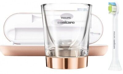 Philips Sonicare DiamondClean HX9312/04 Toothbrush Rose Gold Accessories only