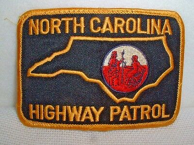 North Carolina Highway Patrol Embroidered Patch - New & Unused
