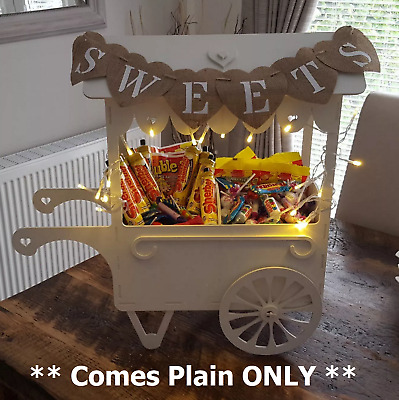 Y34 Wedding Day XL SWEET CANDY CART Trolley Holder Place Table Display Stand N