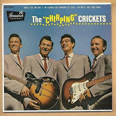 Buddy Holly And The Chirping Crickets Ep Near Mint