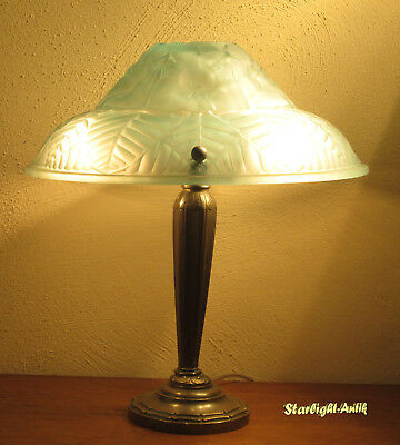 Wonderful French Art Deco Table Lamp 1925 - Signed: Ranc Frères France
