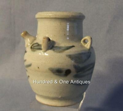 Antique Chinese Ming Dynasty Blue and White Water Dropper 15/16th century