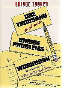 BRIDGE TODAY 1001 WORKBOOK: ONE THOUSAND AND ONE BRIDGE PROBLEMS By Frank NEW