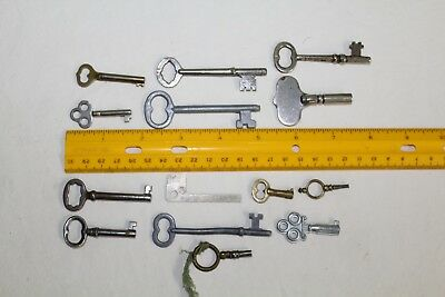 Lot of 14 Keys Skeleton Vintage Steam Punk