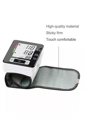 Fully Automatic Digital Wrist Style Blood Pressure and Pulse Monitor