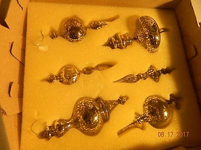 Twos Company Ancient Silver Ornaments