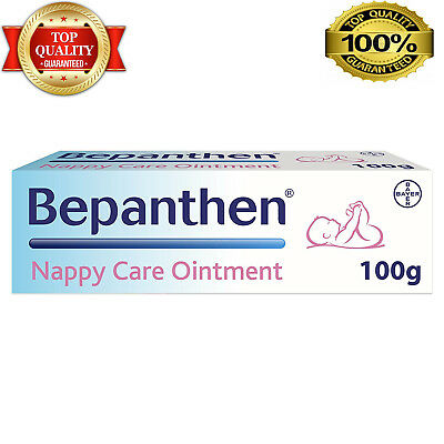 Bepanthen Nappy Care Ointment 100g Protects Healthy Skin for Babies Nappy Care