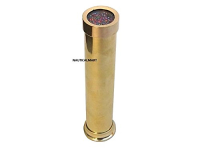 "Designer Beautiful Nautical 6"" Solid Brass Kaleidoscope Decorative Brass Kaleido"