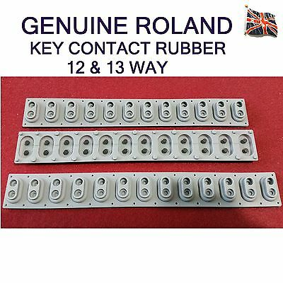 12 / 13 Way Key Rubber Contacts for Roland MSK1 MSK2 keyboard assemblies