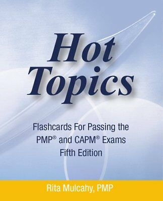 The pmp exam flash cards test prep series by andy crowe 4157 hot topics flashcards for passing pmp and capm exam hot topics brand new fandeluxe Image collections
