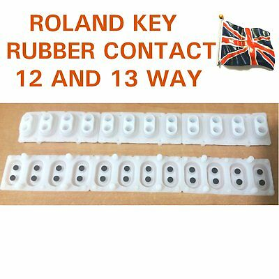 Roland key contact rubber switch for AX7 EG101 F30 G70 12 way P/No 2218532802