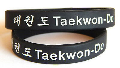 Taekwondo wristband > adult or junior> black belt > martial arts > TKD