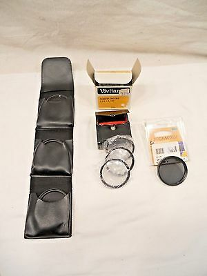 Vivitar Close-Up Lens Set Of 3, Promaster Polarizer Filter, Hoya  Lens Set Of 3