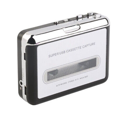 Super USB2.0 Cassette to MP3 Converter Capture Tape to PC Audio Music Player