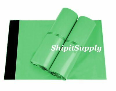 1-1000 6x9 ( Green ) Color Quality Poly Mailers Boutique Bags Fast Shipping