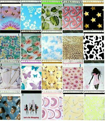1-1000 Choose 12x15.5 14x17 14.5x19 Boutique Designer Poly Mailers Fast Shipping