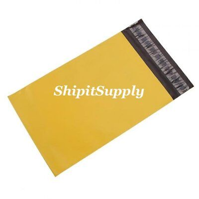 1-1000 9x12 ( Yellow ) Color Poly Mailers Shipping Boutique Bags Fast Shipping