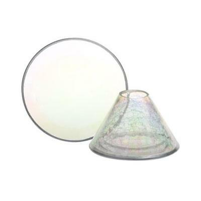 Yankee Candle Pearlescent Crackle Large Shade and Tray FREE P&P