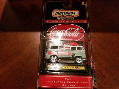 Matchbox Collectibles Coca Cola 1967 Vw Transporter