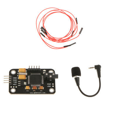 Speech Recognition Voice Recognize Module Board &Micro&4pin wire For Arduino