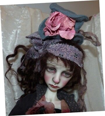 Reduced Ooak Val Zeitler Dollstown Seola Doll Chateau Body Articulated Fingers