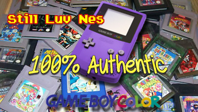 Lot of Nintendo GameBoy Color, Games All (100% Authentic) Game Boy GBA Sp GBC