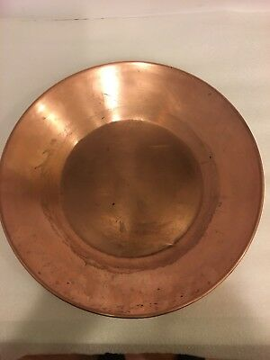 Hudson Bay Limited 14''hand made prospecting copper pan-Herters wasega,Minn.