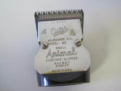 Oster A2 Clipper Blade Head Small Animal Electric Vintage Size 30 Super Rare