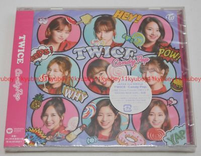 New TWICE Candy Pop First Limited Edition CD Card Japan WPCL-12820 4943674276486