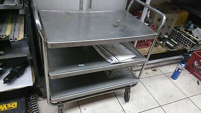 #food Cart Stanles Steel cart food carrier Table cart table kitchen table cart