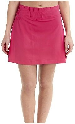 (Medium, Pink/Tropical Rose) - LOLE Womens Brooke Skort. Delivery is Free