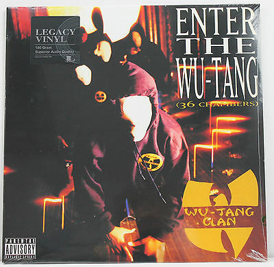 WU-TANG CLAN Enter The Wu-Tang (36 Chambers) LP 180g vinyl Eur 2016 New/Sealed!