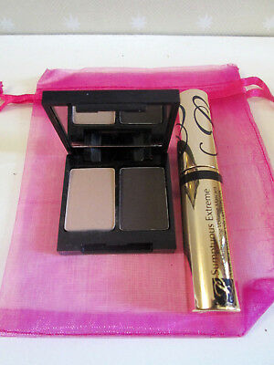 Estee Lauder Set - Sumptuous Extreme Mascara Black 2.8ml & Eye Shadow Duo Ivory