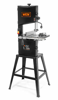 """WEN 10"""" Two-Speed Band Saw with Stand and Worklight, Woodworking Shop Bandsaw To"""