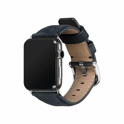 Sena Heritage Leather Band For Apple Watch 42mm - Denim
