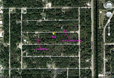 Florida Port Charlotte 1/4 acre land - bid for down payment - pay $150 monthly