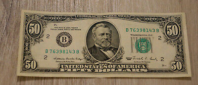 50 US-Dollar Banknote (1988)