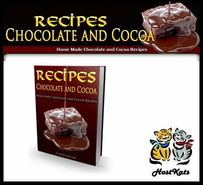 Chocolate And Cocoa - Recipes - Digital Download