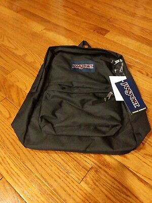 Brand new with tags JanSport Superbreak Classic Backpack Black BNIB