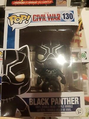 Black panther pop funko civil war