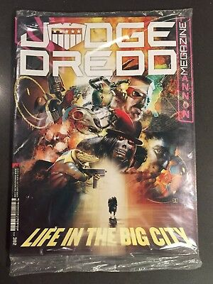 Judge Dredd Megazine #382 New unread sealed + extra bonus 2000AD comic Magazine
