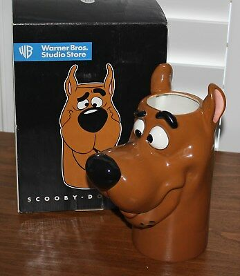 Scooby Doo Vase 1997 Limited Edition Warner Bros Studio Store New in Box