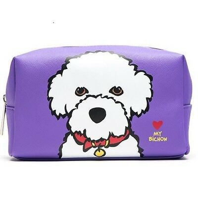 Bichon Frise Cosmetic Case -by  Marc Tetro - Lovely quality item - UK Seller