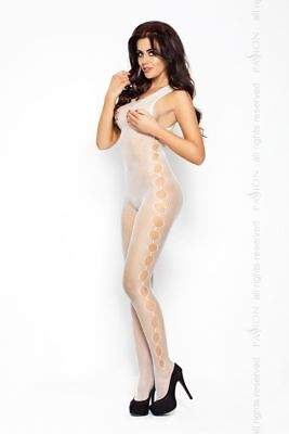 SEXY CATSUIT BODY STOCKING NET Erotic Lingerie Underwear Fetish DIRTY HOLES